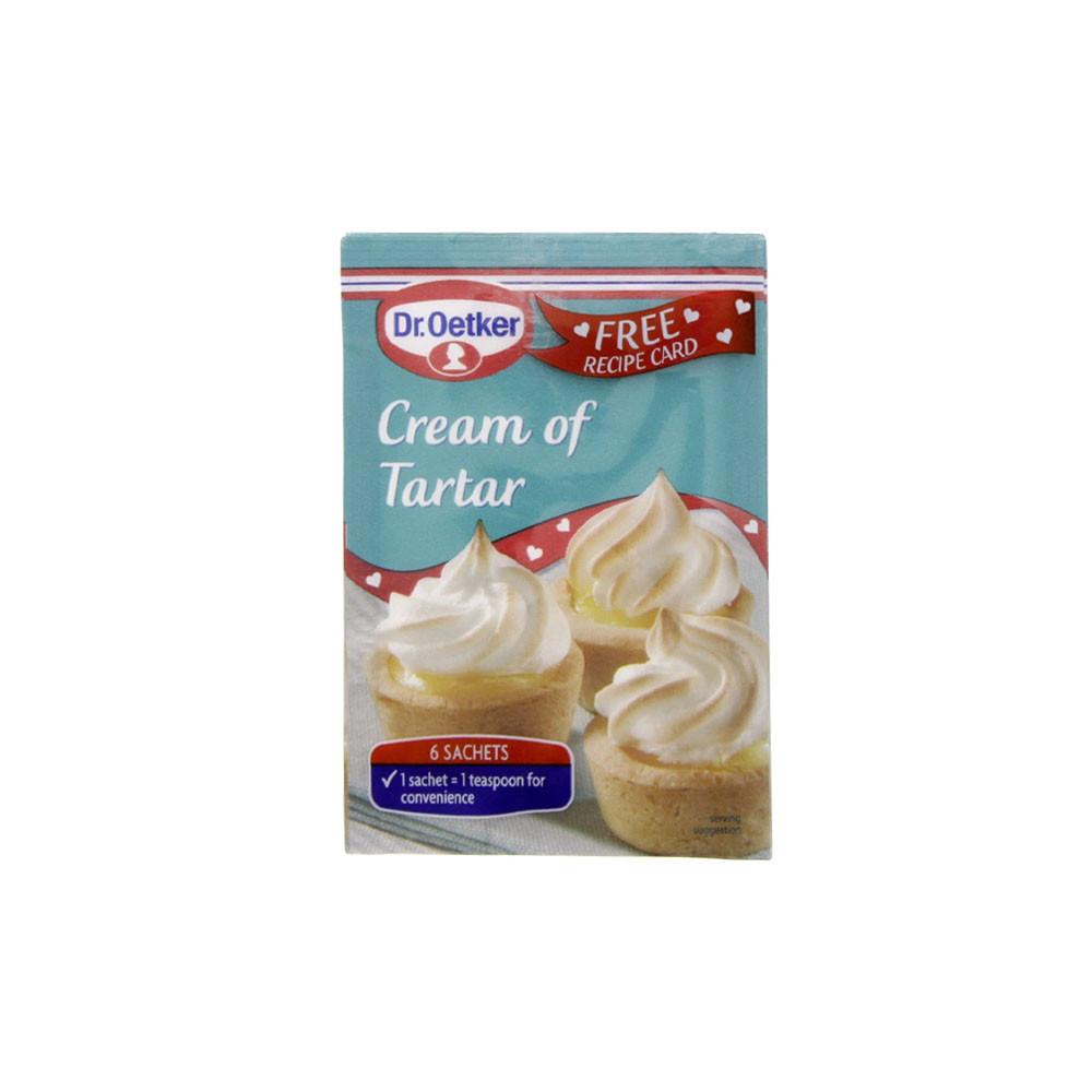 Dr. Oetker Cream of Tartar (6 x 5 gm) - Sanadeeg