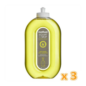 Method Squirt + Mop All Floor Cleaner Lemon Ginger (3 x 739 ML) - Sanadeeg