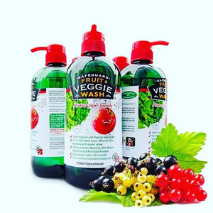 Safeguard Fruit and Veggie Wash ( 2 x 750 ML) - Sanadeeg