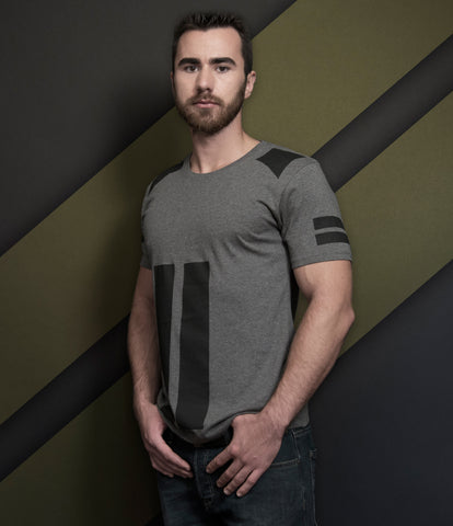 FORTE BLACK Slim Fit T-Shirt