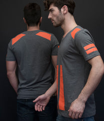 FORTE ORANGE Slim Fit T-Shirt
