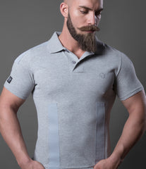 Polo Tapes Jersey Mélange Grey