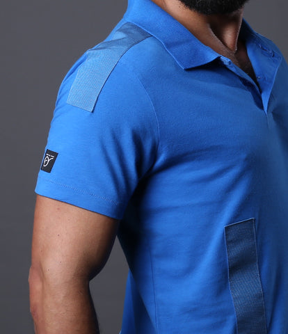 Polo Tapes Jersey Royal Blue