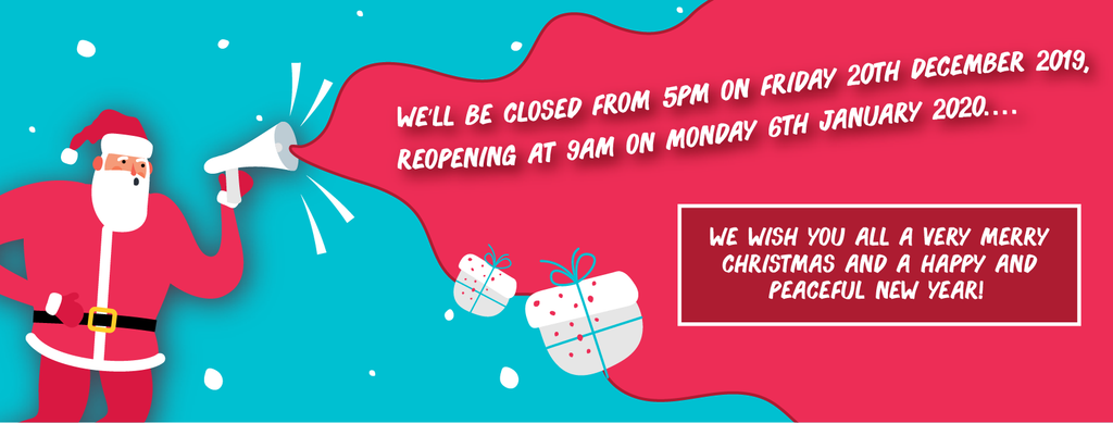 The Print Room will be closing for Christmas and New Year!