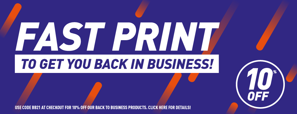 Posters, flyers, leaflets, booklets & more to get Bolton businesses back up & running