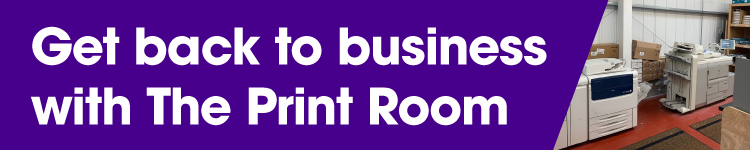 Print posters, banners, flyers & more for your Bolton workplace with The Print Room, Bolton