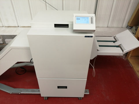 Knife trimmer for neat booklet and brochure finishing at Bolton's The Print Room