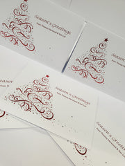 Customised Printed Christmas Cards