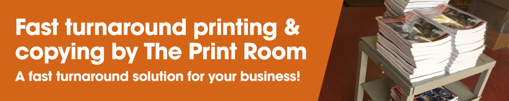 Fast turnaround commercial printing in Bolton | The Print Room, Bolton