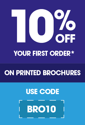 10% off your first Booklet/Brochure order