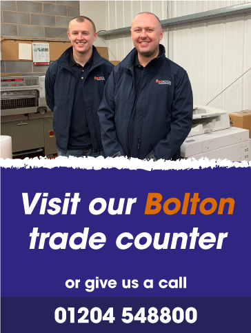 Visit our trade counter in Bolton