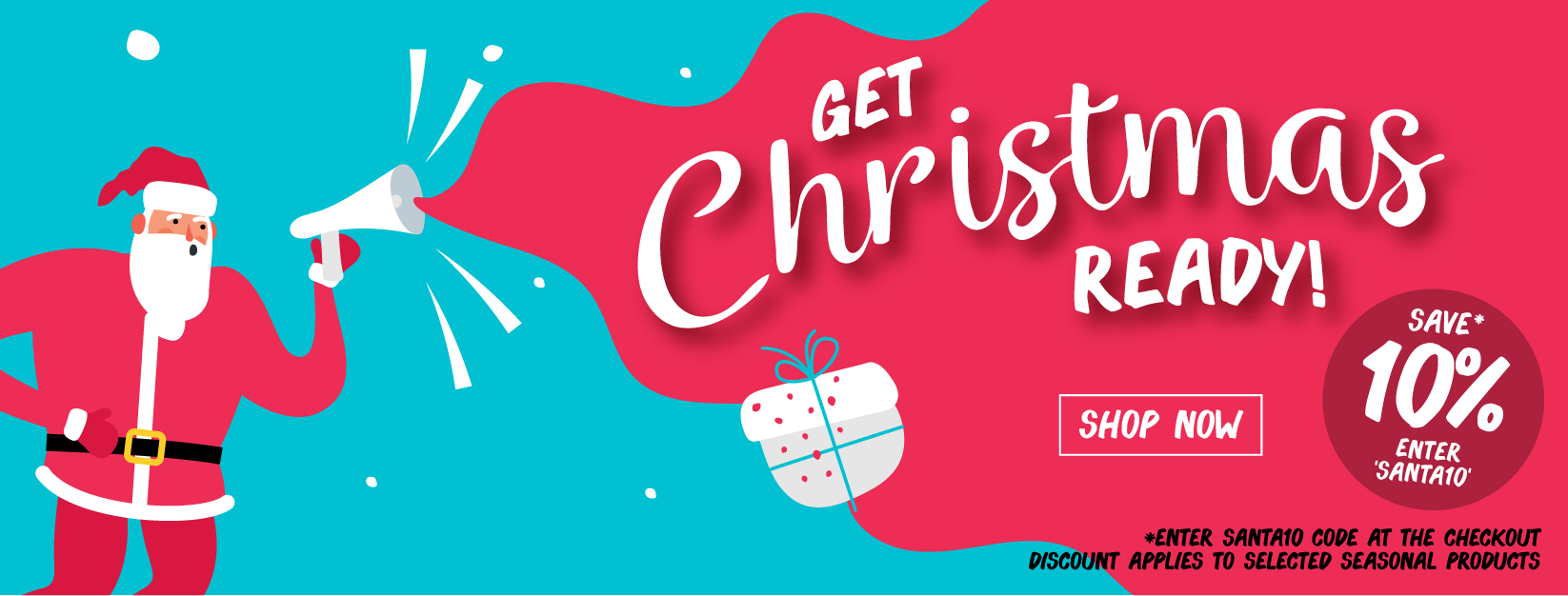 Order from our Christmas collection now and receive 10% off.