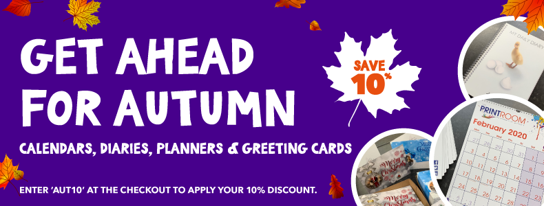 The Print Room Autumn 10% off offer