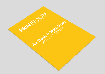 A3 Printed Note and Desk Pad Printing Service for Bolton