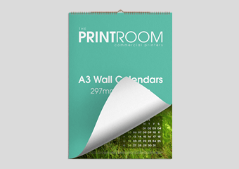A3 Wall Calendar Printing Services for Bolton