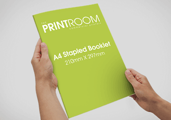 A4 Stapled Booklet Printing in Bolton