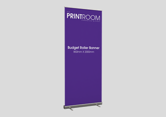Fast Roller Banner Printing Now Available From The Print Room, Bolton