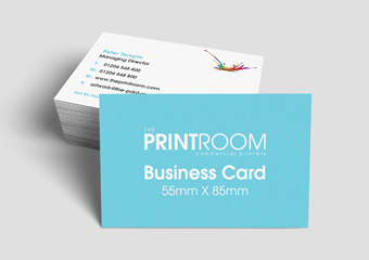 Gloss Laminated Business Cards image 1