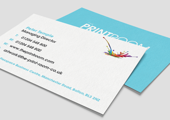 Spot UV Business Card Printing with Matt Lamination Finish