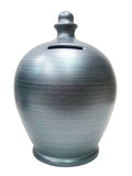 Terramundi Money Pot Metallic Silver - A83
