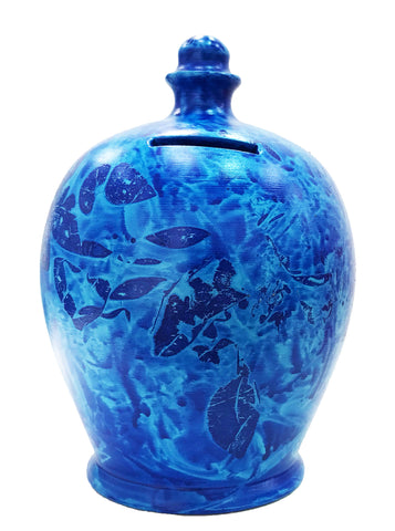 Terramundi Money Pot EXPRESS Charmed Blue With Pale Blue  - EXB89