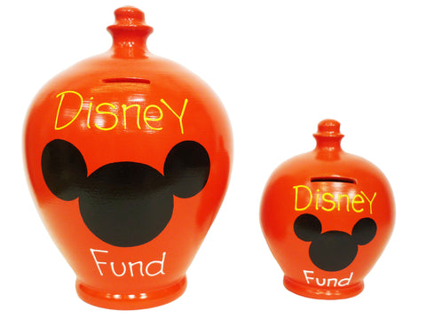 Deluxe Disney Money Pot Red - BP28