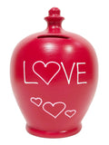 Terramundi Money Pot Love With 'Love' And Hearts - L43