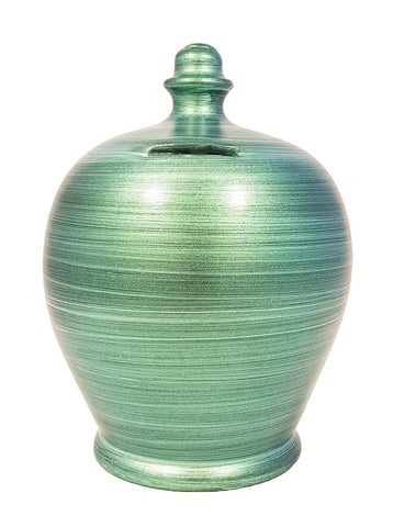 Terramundi Money Pot EXPRESS Metallic Green - EXA80