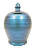 Terramundi Money Pot Metallic Blue - C72