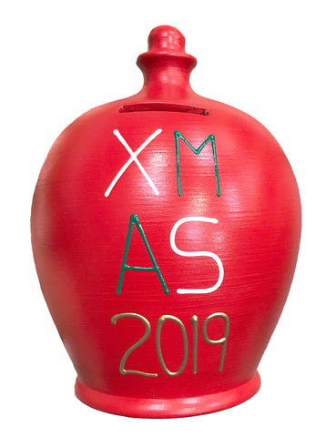 'XMAS 2019' Money Pot Red - X3