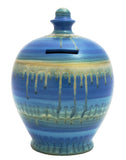 Terramundi Money Pot EXPRESS Slick Blue & Gold - EXB27