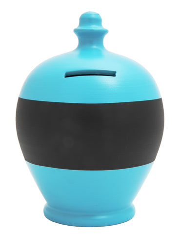 Blackboard Money Pot Pale Blue - BB19