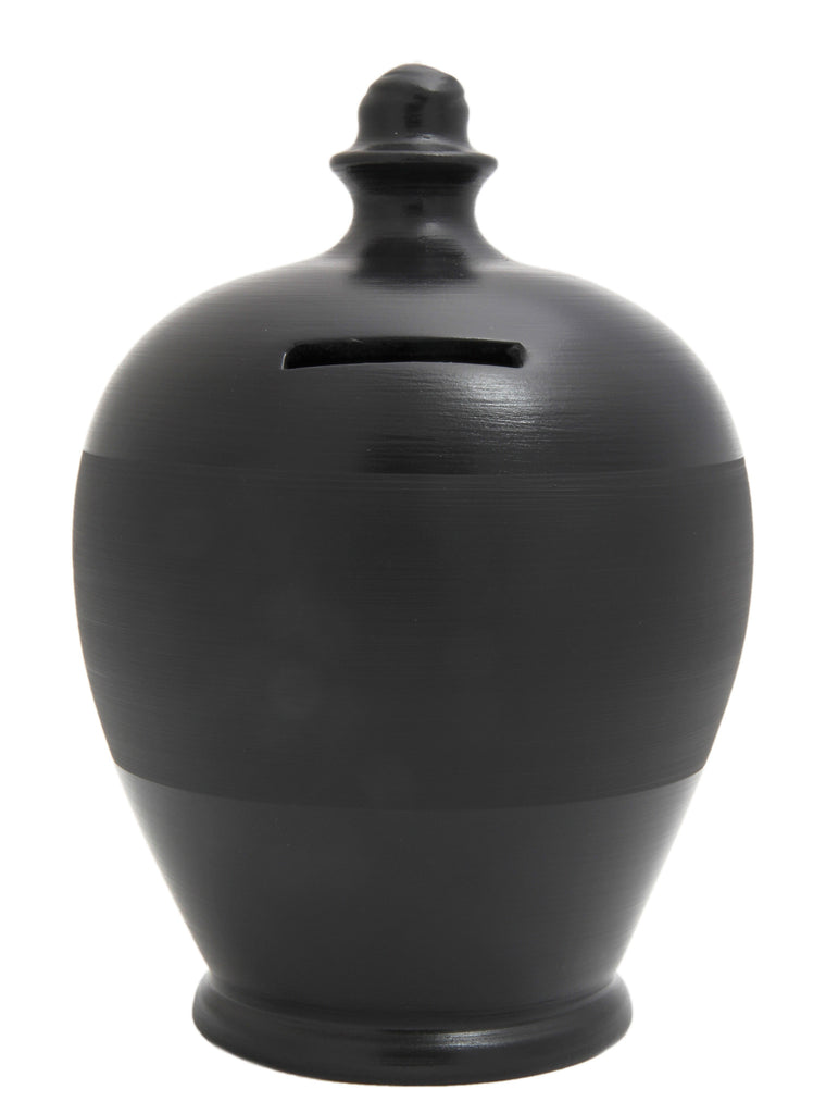 Blackboard Money Pot Black - BB21