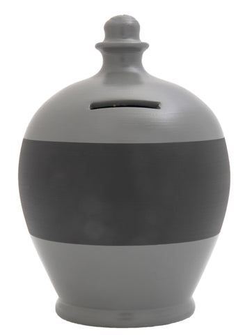 Blackboard Money Pot Dark Grey - BB22