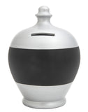 Blackboard Money Pot Silver - BB32