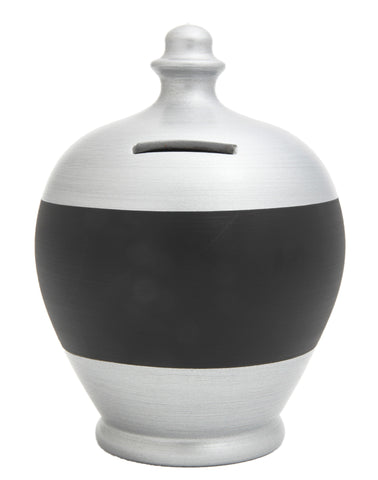 Terramundi Money Pot Blackboard in Silver - BB32