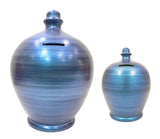 Terramundi Money Pot Deluxe Metallic Blue - BP47