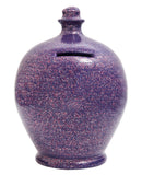 Terramundi Money Pot EXPRESS Glitter Purple with Silver and Red Glitter - EXG5