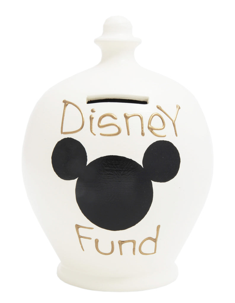 Terramundi Money Pot 'Disney Fund' White - S183