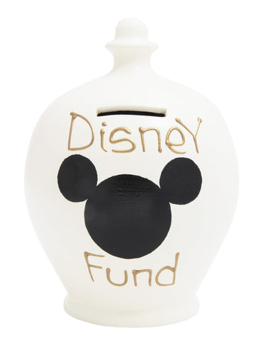 'Disney Fund' Money Pot White - S183
