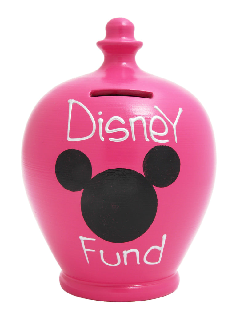 Terramundi Money Pot 'Disney Fund' Pink - S184