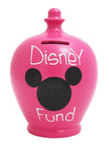 'Disney Fund' Money Pot Pink - S184