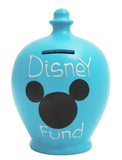 'Disney Fund' Money Pot Blue - S185