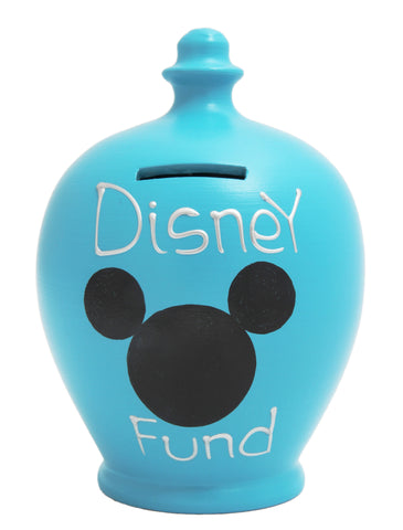 Terramundi Money Pot 'Disney Fund' Blue - S185