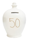 '50' Money Pot White - S24