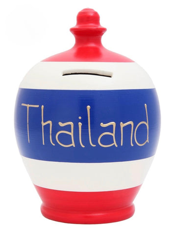 Terramundi Money Pot EXPRESS 'Thailand' Red, White and Blue - EXS265