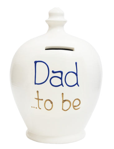 'Dad To Be' Money Pot White - S272