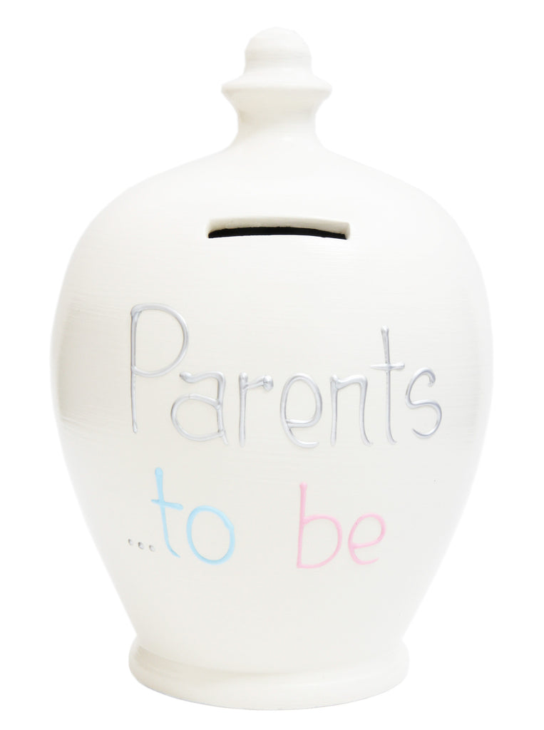 Terramundi Money Pot 'Parents To Be' White - S279
