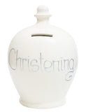 'Christening' Money Pot White - S45