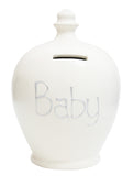 Terramundi Money Pot 'Baby' White - S48
